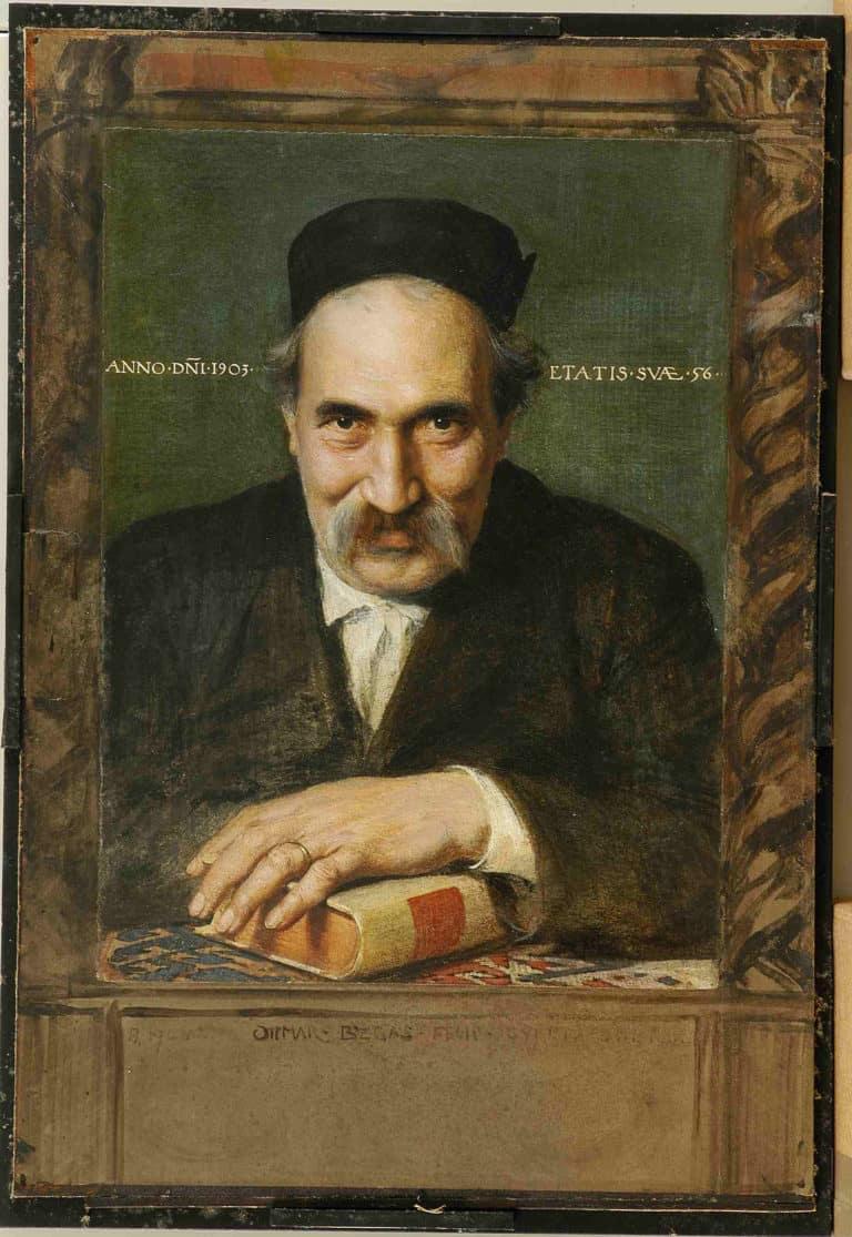 Ottmar Begas, Bildnis Ettore Tailetti, 1903