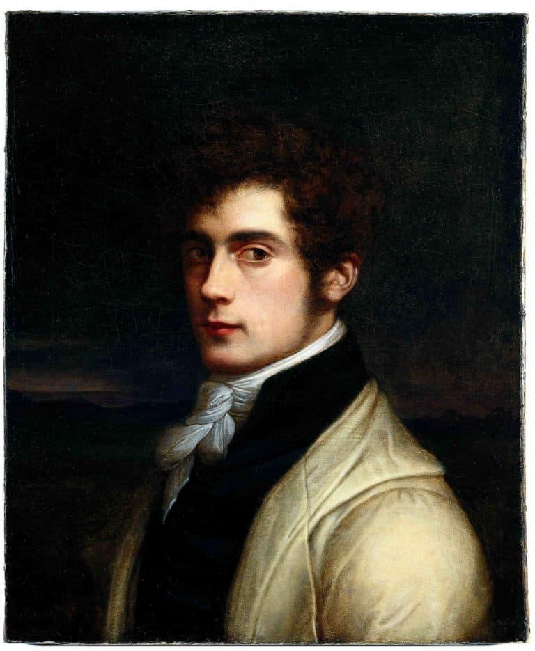 Carl Joseph Begas(se) d. Ä. <br/> Selbstbildnis aus der Jugendzeit