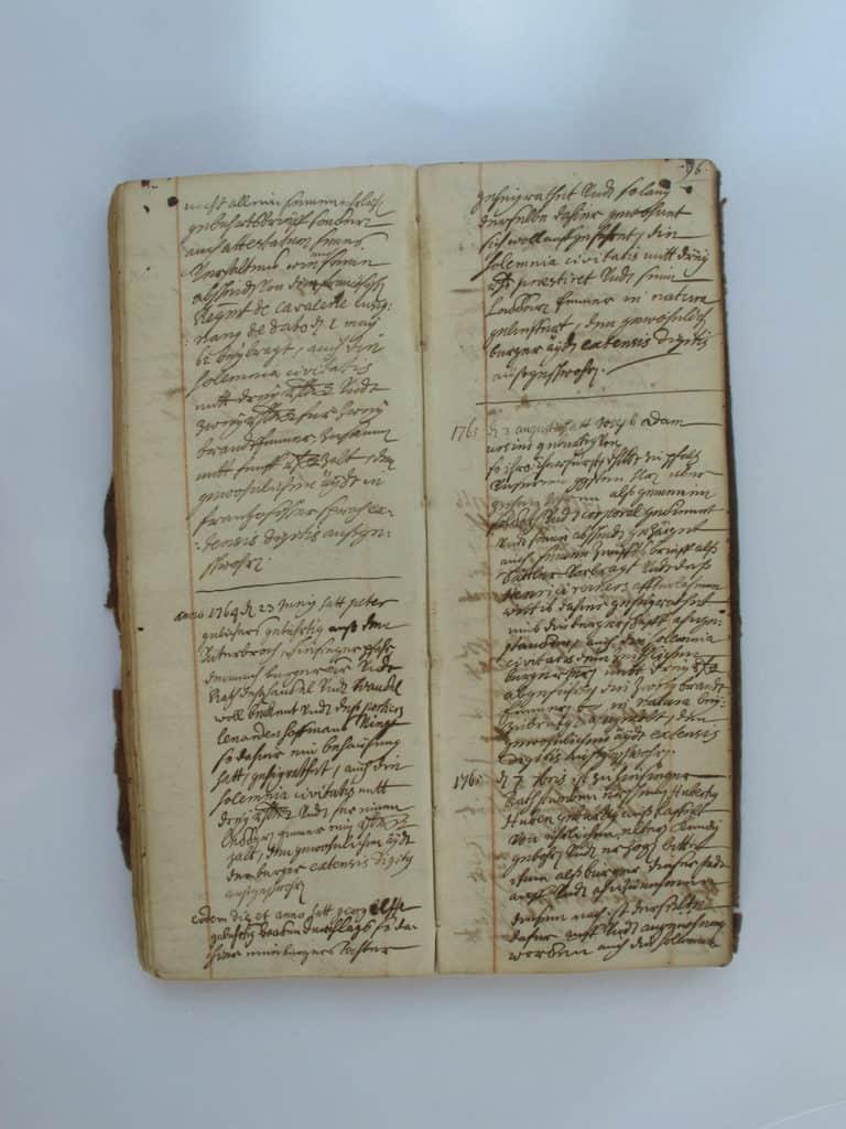 Bürgerbuch der Stadt Heinsberg, 1726-1794
