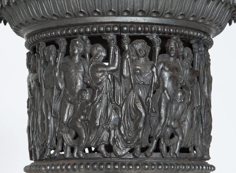 Klassizistischer Ofen, Detail, 19. Jh