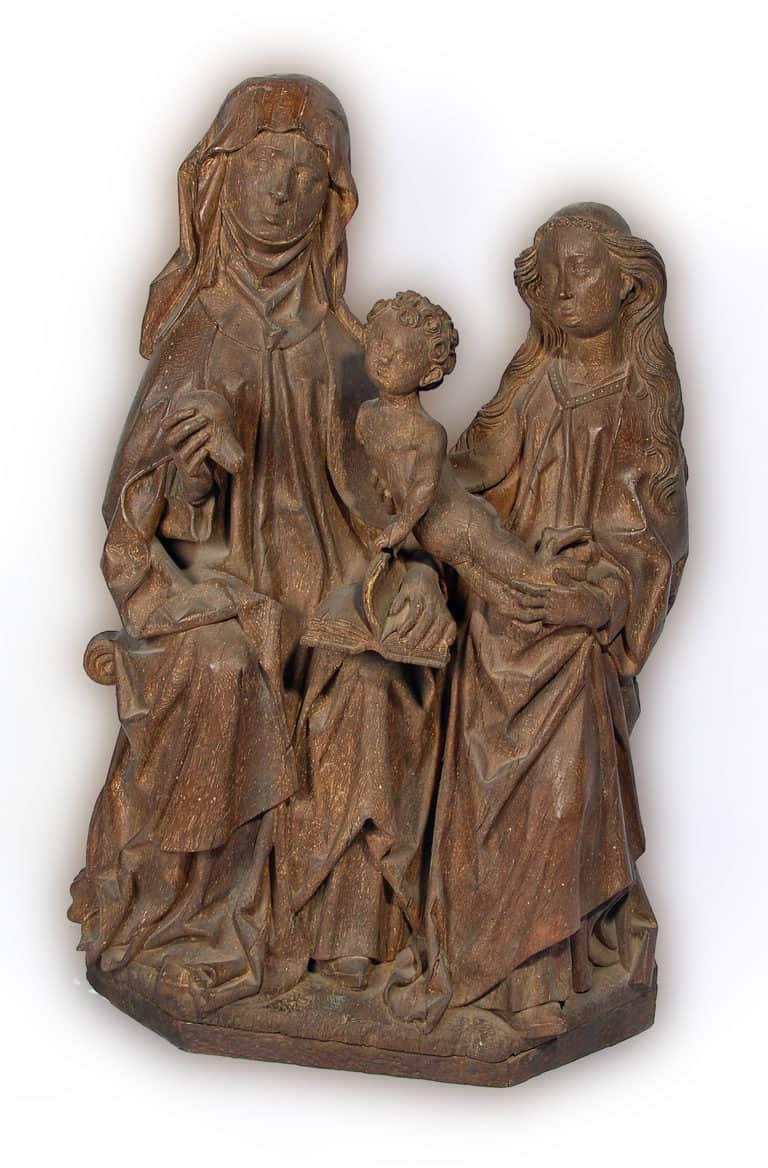 Anna Selbdritt, um 1480